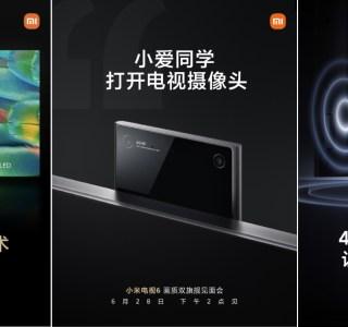 Xiaomi Mi TV 6 : une caméra dans le téléviseur c'est bien, alors pourquoi pas deux?