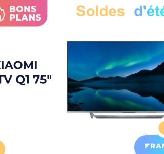 En solde, le Xiaomi Mi TV Q1 de 75 pouces perd 500 euros de son prix