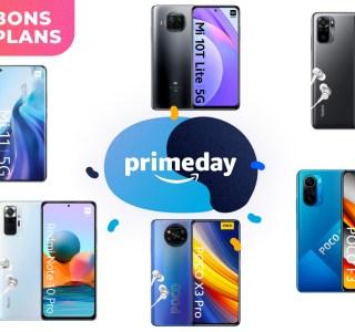 Prime Day : tous les smartphones Xiaomi sont à bas prix sur Amazon