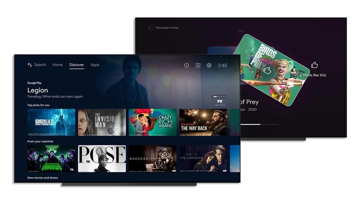 Android TV : Google s'inspire de Tinder pour suggérer des films et séries TV
