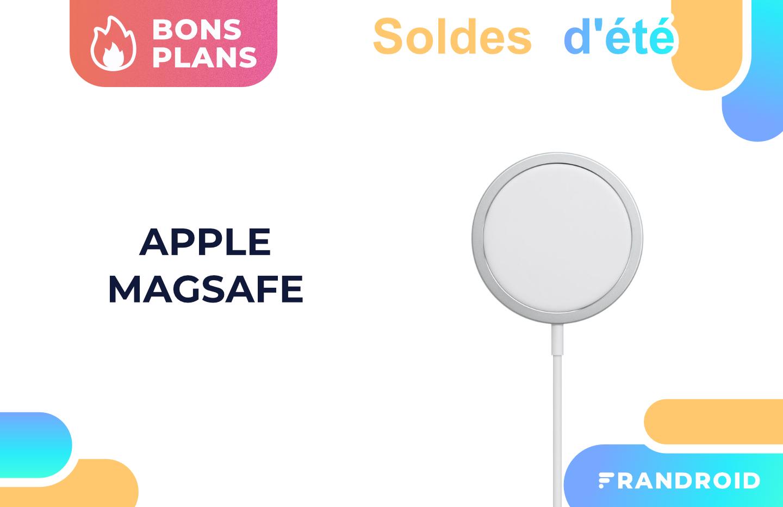 MagSafe : un code promo fait baisser le prix du chargeur sans fil d'Apple
