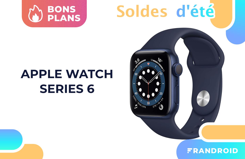 L'Apple Watch Series 6 est à son meilleur prix pendant les soldes
