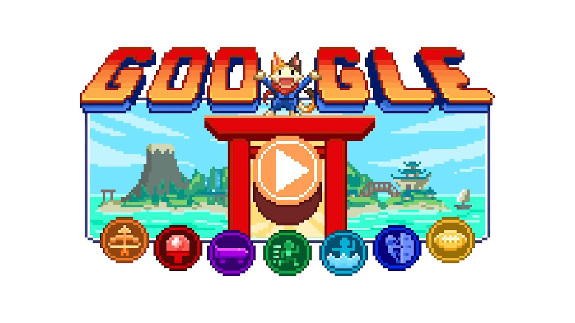 Pour les JO de Tokyo, Google lance un Doodle façon RPG