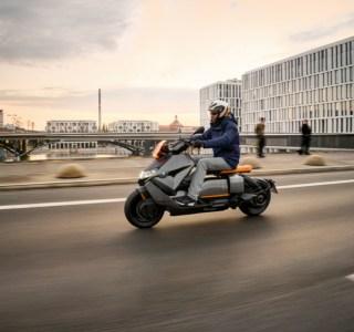 BMW CE 04 officialisé : une autonomie qui lui permet de rallier Paris à Rouen