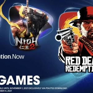 PS Now : Red Dead Redemption II, Nioh 2 et God of War ajoutés en juillet