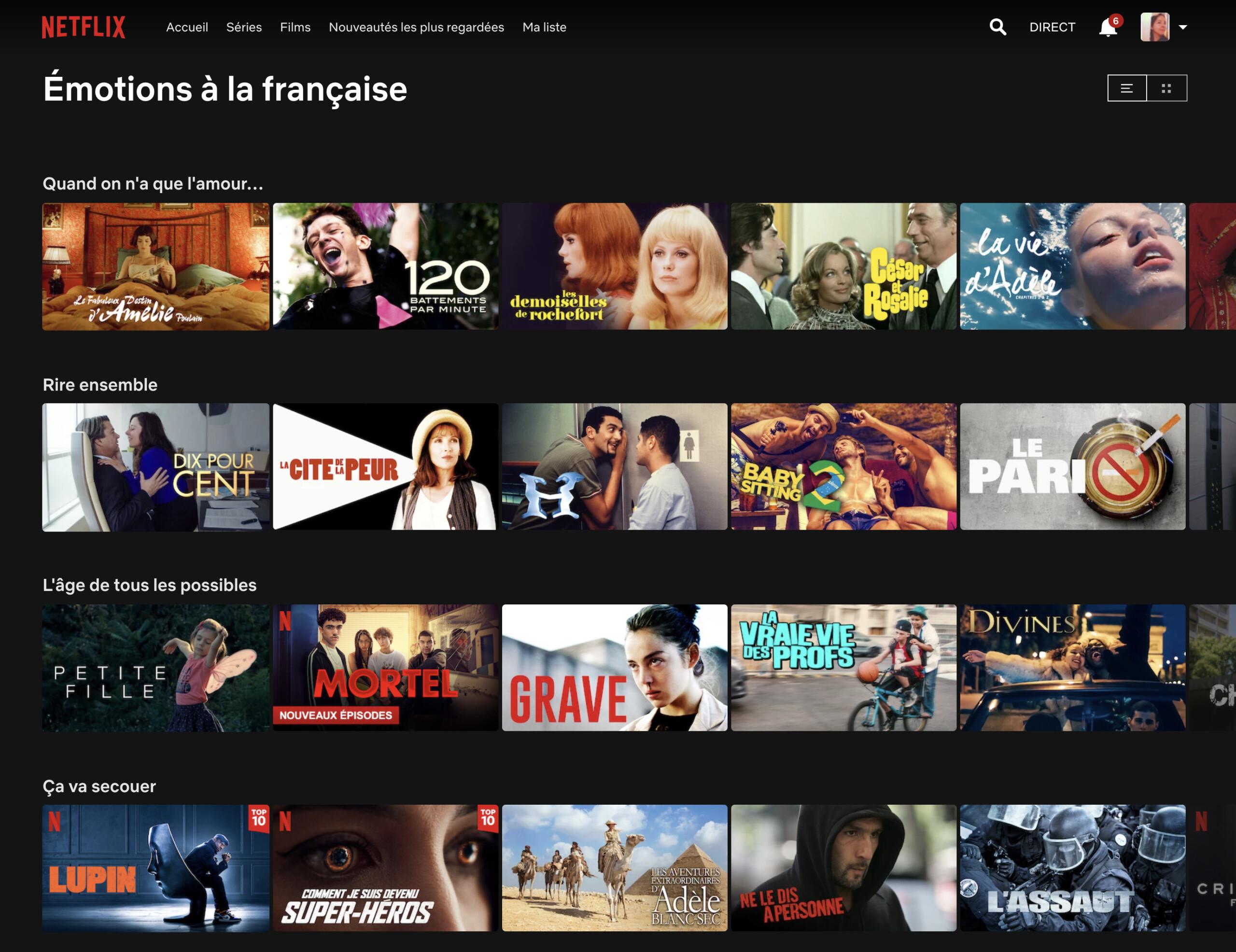 Netflix fait sa fête au cinéma français