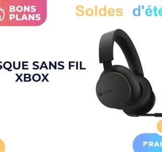 Le casque sans fil officiel Xbox est moins cher avec un code promo pendant les soldes