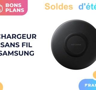 Le chargeur sans fil de Samsung est de nouveau gratuit pendant les soldes
