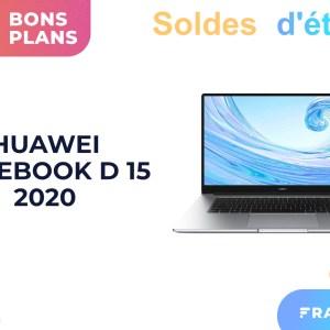 La version 2020 du Huawei Matebook D 15 profite d'une belle promotion