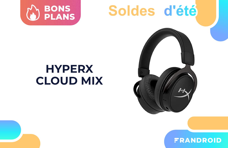 Le casque HyperX Cloud Mix (filaire + Bluetooth) est à -36% pendant les soldes