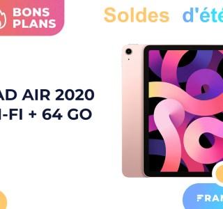 Amazon réduit fortement le prix de l'Apple iPad Air 2020 pour les soldes