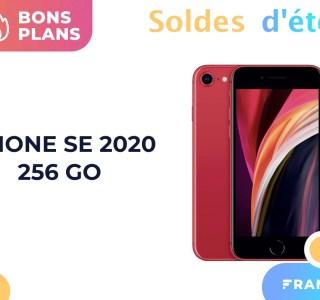 Pendant les soldes, l'iPhone SE 2020 avec 256 Go est 115 € moins cher