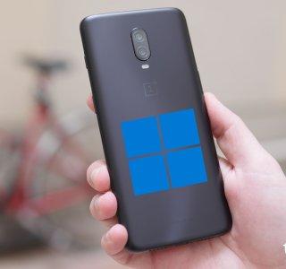 Alors qu'il attend encore Android 11, ce OnePlus 6T reçoit Windows 11