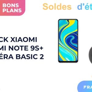 Pack Xiaomi en solde : un smartphone + une caméra de surveillance pour 150 €