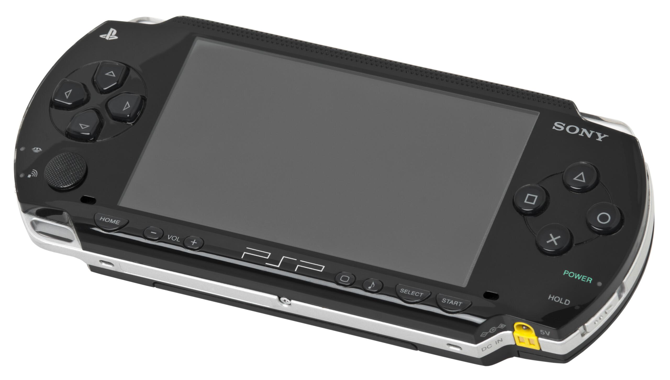 Sony va continuer à vendre des jeux PSP