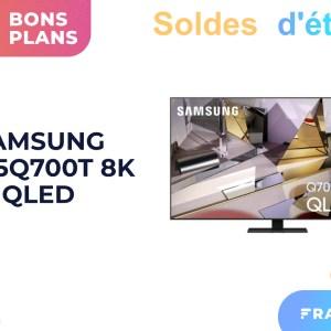 Une TV QLED 55″ 8K au prix de la 4K, c'est ce que propose Samsung pendant les soldes