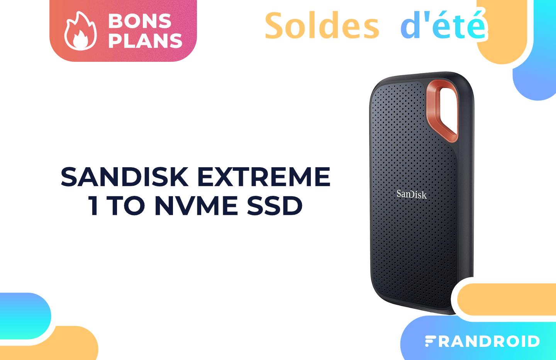 Rapide et performant, ce SSD NVMe externe SanDisk 1 To est soldé à -38%