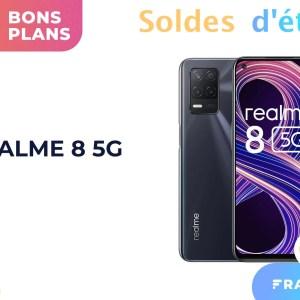 Grâce à une vente flash, le prix du Realme 8 5G n'a jamais été aussi bas