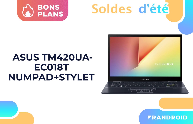 Asus VivoBook : ce laptop doté d'un Ryzen 7 5700H perd 300 € durant les soldes