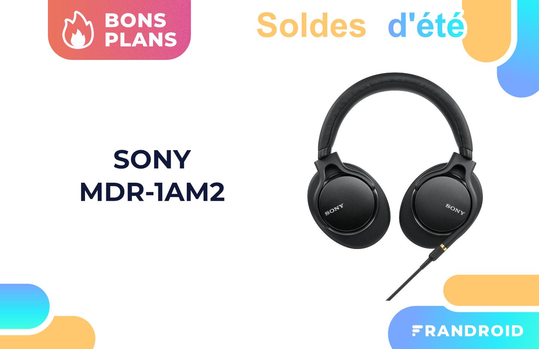 Sony MDR-1AM2 : 90 euros de moins pour cet excellent casque certifié Hi-Res Audio