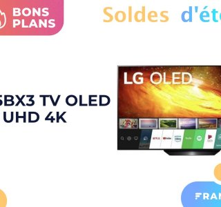 En solde, le TV LG OLED BX3 de 65 pouces perd 500 euros de son prix