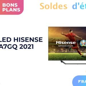 TV 4K en solde : le QLED 55″ de Hisense est à moins de 600 € (avec HDMI 2.1)
