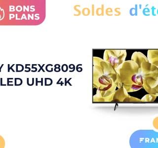 Avec 300 € de moins, ce TV LED 4K 55 pouces de Sony est un excellent deal