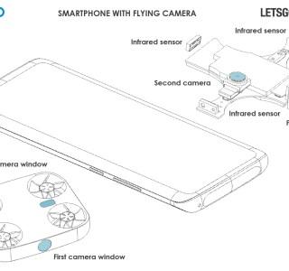 Un drone pour les selfies intégré au smartphone… Vivo dépose un brevet pour ce projet fou