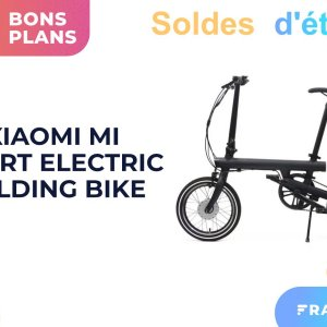 Ce vélo électrique pliable de Xiaomi est proposé à moitié prix