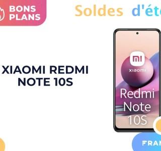 Le récent Xiaomi Redmi Note 10S est déjà moins cher sur Amazon