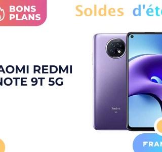 Puissant, complet et 5G, le Xiaomi Redmi Note 9T est soldé à -18 %