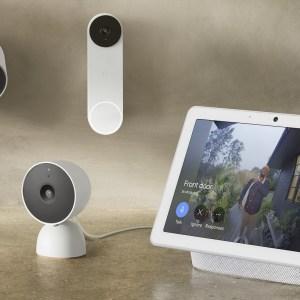 Google donne un successeur à la sonnette Nest Hello et ajoute trois nouvelles caméras de sécurité