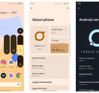 DotOS promet une des fonctionnalités les plus importantes d'Android 12 sur Android 11