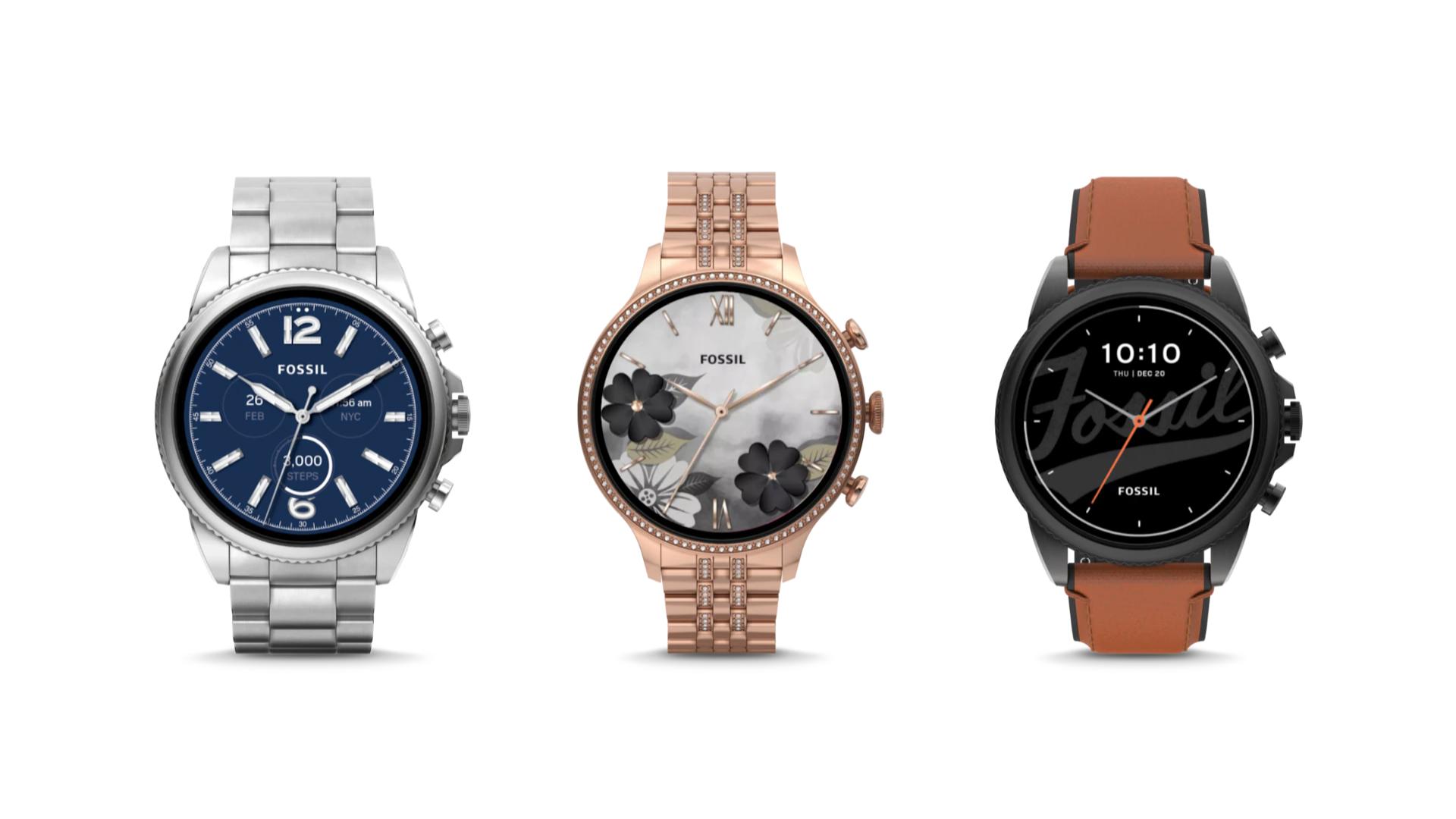 Fossil annonce ses nouvelles montres destinées à accueillir Wear OS 3