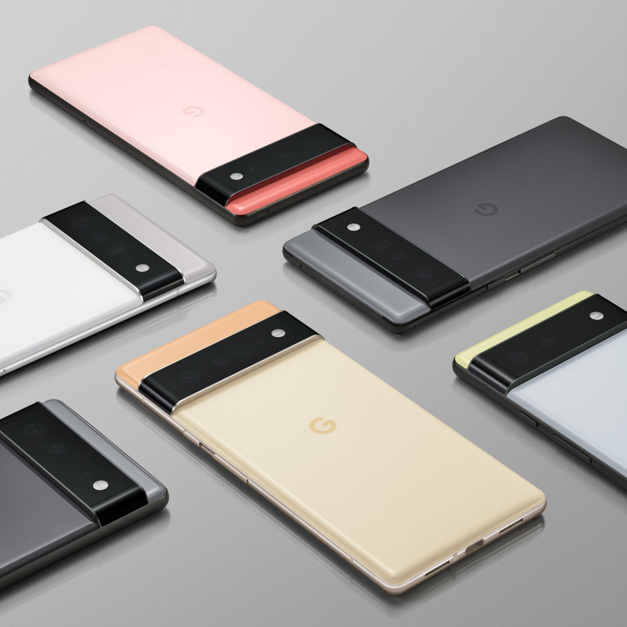 Les Google Pixel 6 et 6 Pro ne seront pas disponibles partout