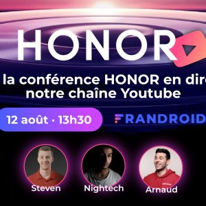 Honor signe son grand retour : suivez la conférence en direct avec 2 invités très spéciaux