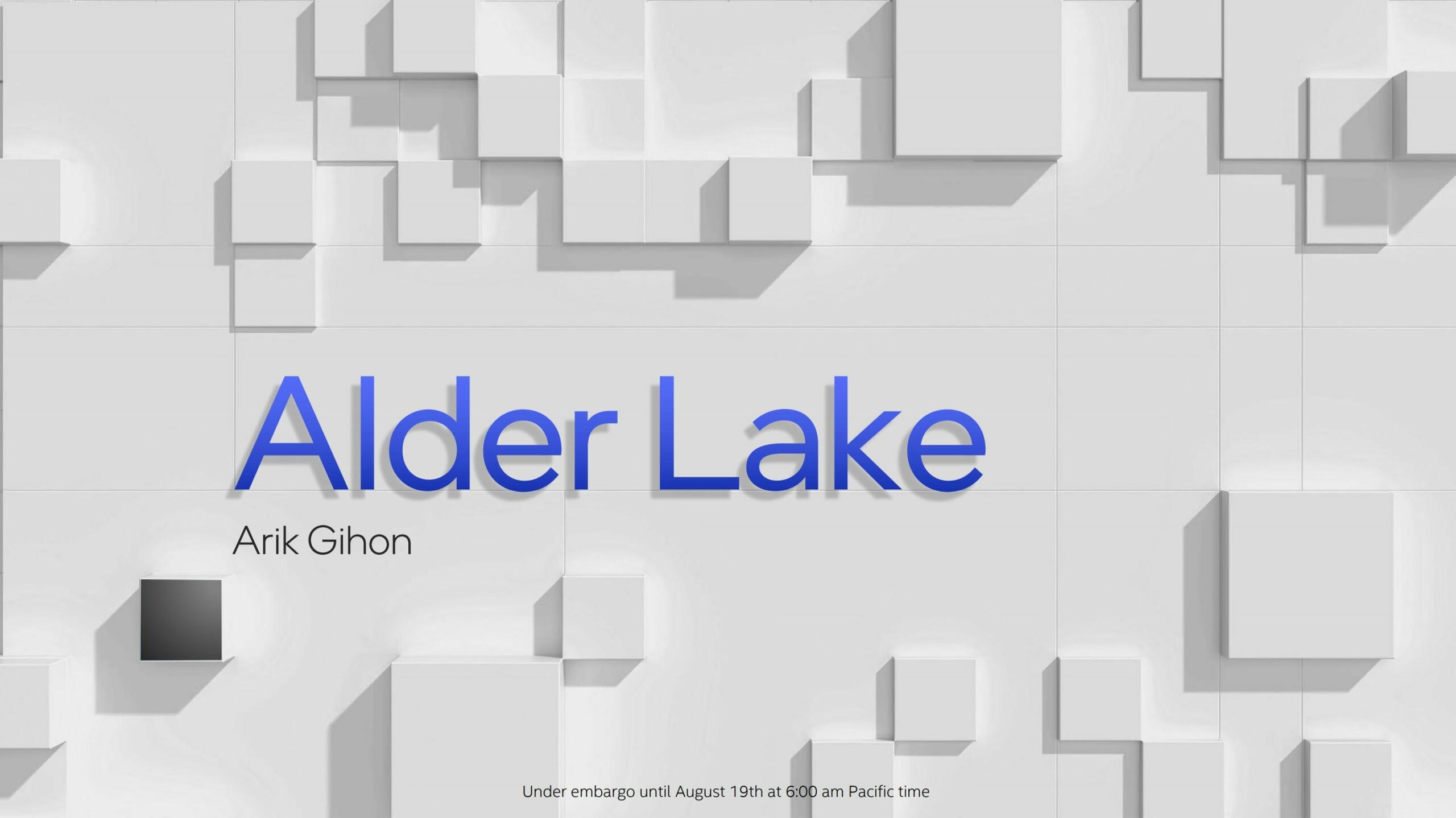 Intel Alder Lake : l'architecture hybride marque le retour d'Intel pour vaincre AMD et ARM