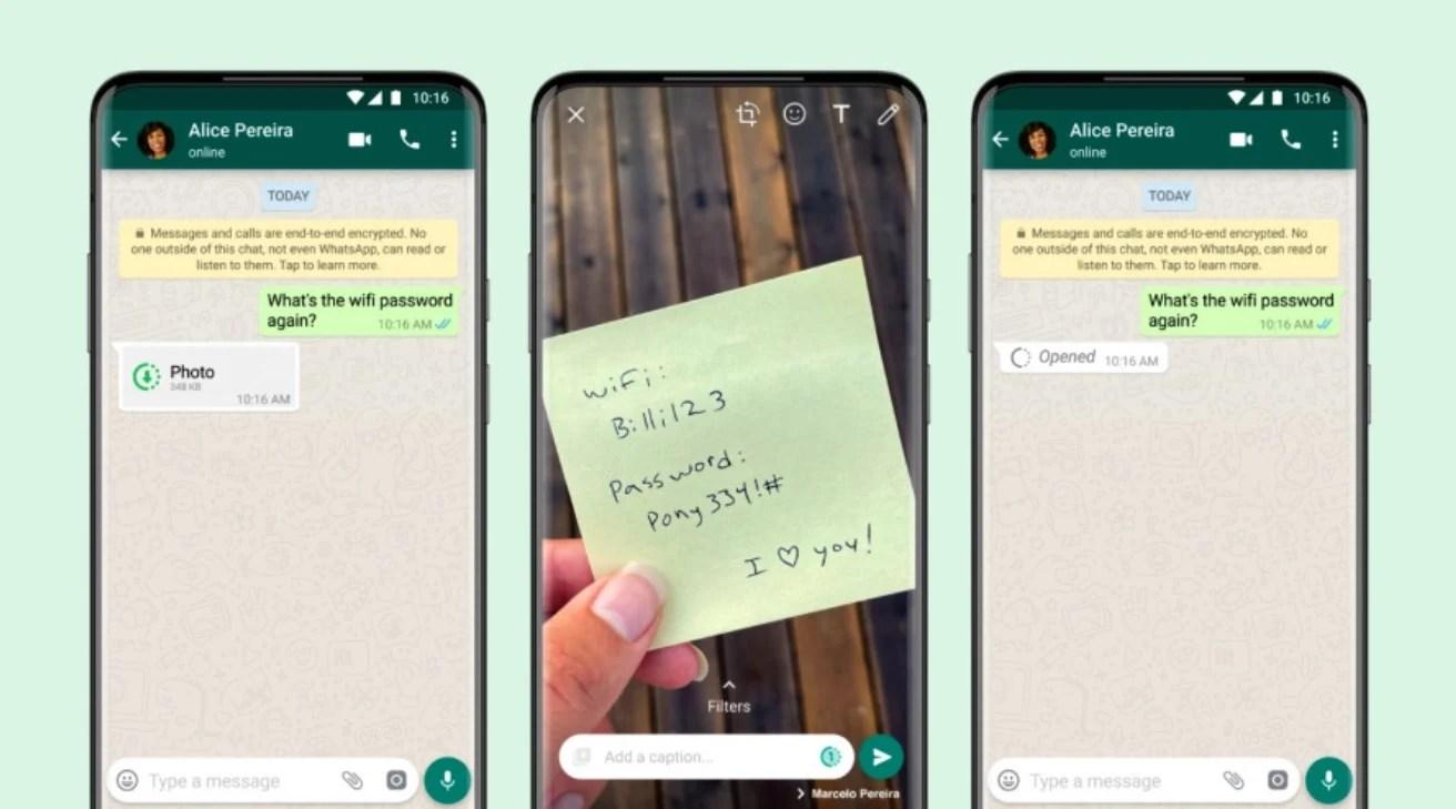Sur les traces de Snapchat, WhatsApp lance les photos et vidéos éphémères