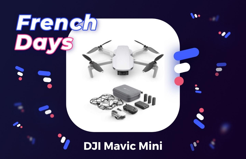 DJI Mavic Mini : la pack drone + accessoires est en promotion pour les French Days (-100 €)