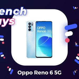 Le nouveau Oppo Reno 6 5G est moins cher grâce à ce code promo spécial French Days