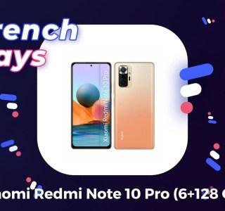 Les French Days font baisser le prix de l'excellent Xiaomi Redmi Note 10 Pro
