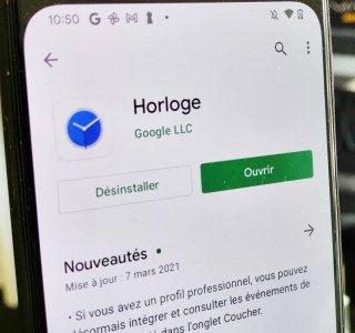 Google Horloge (réveil et alarme) passe à Material You : voici à quoi ressemble l'interface sur Android 12