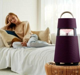 LG XBOOM360, l'enceinte Bluetooth qui veut éclairer notre lanterne