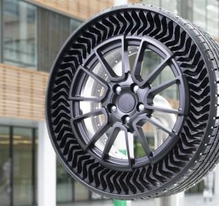 Michelin est bientôt prêt à commercialiser ses pneus « sans air » increvables : fonctionnement et date de sortie