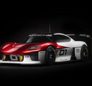 Porsche Mission R: 100km/h en 2,5s, c'est une voiture de course électrique survoltée