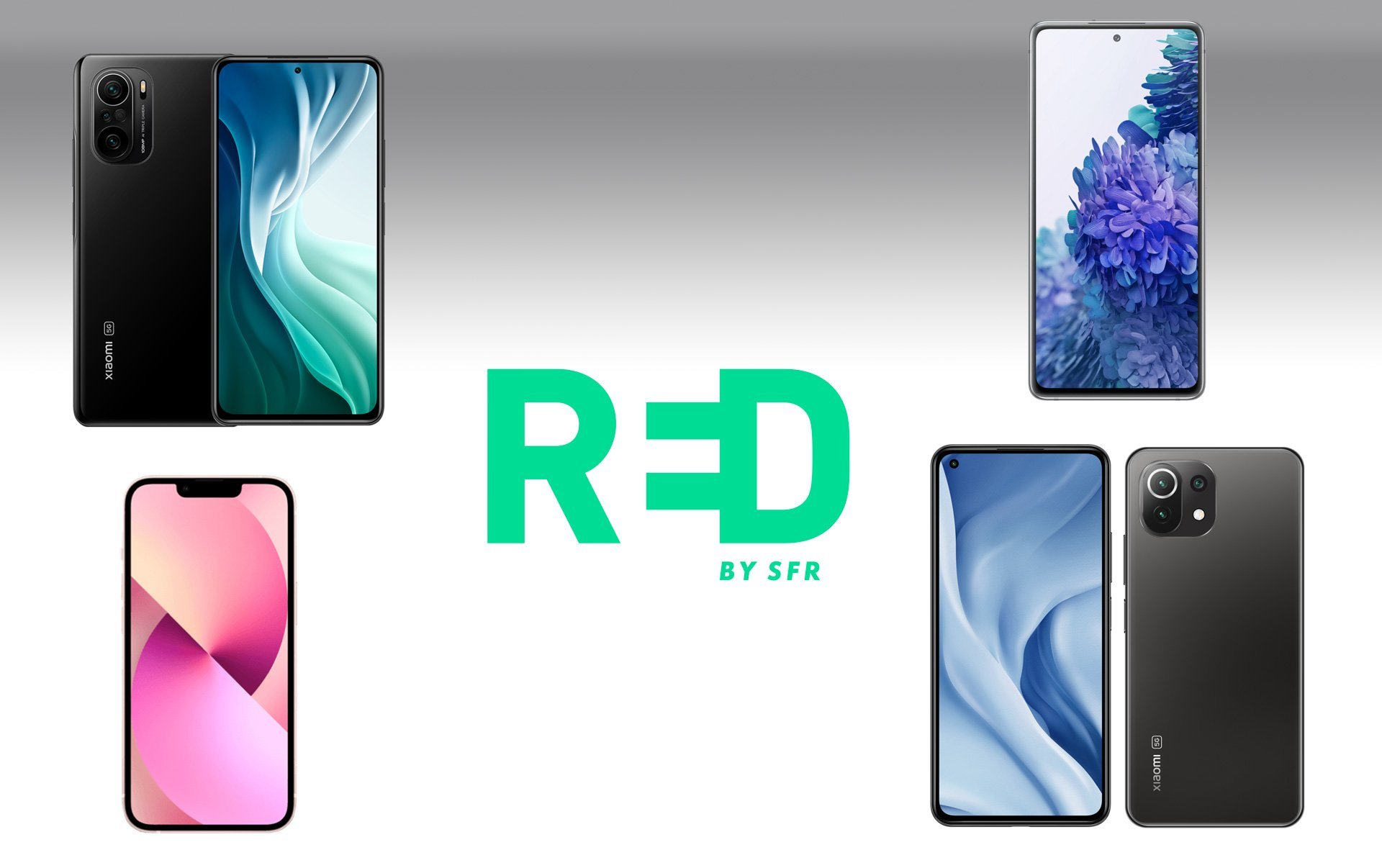 iPhone 13, Samsung Galaxy S20 FE… RED by SFR fait chuter les prix pour les French Days
