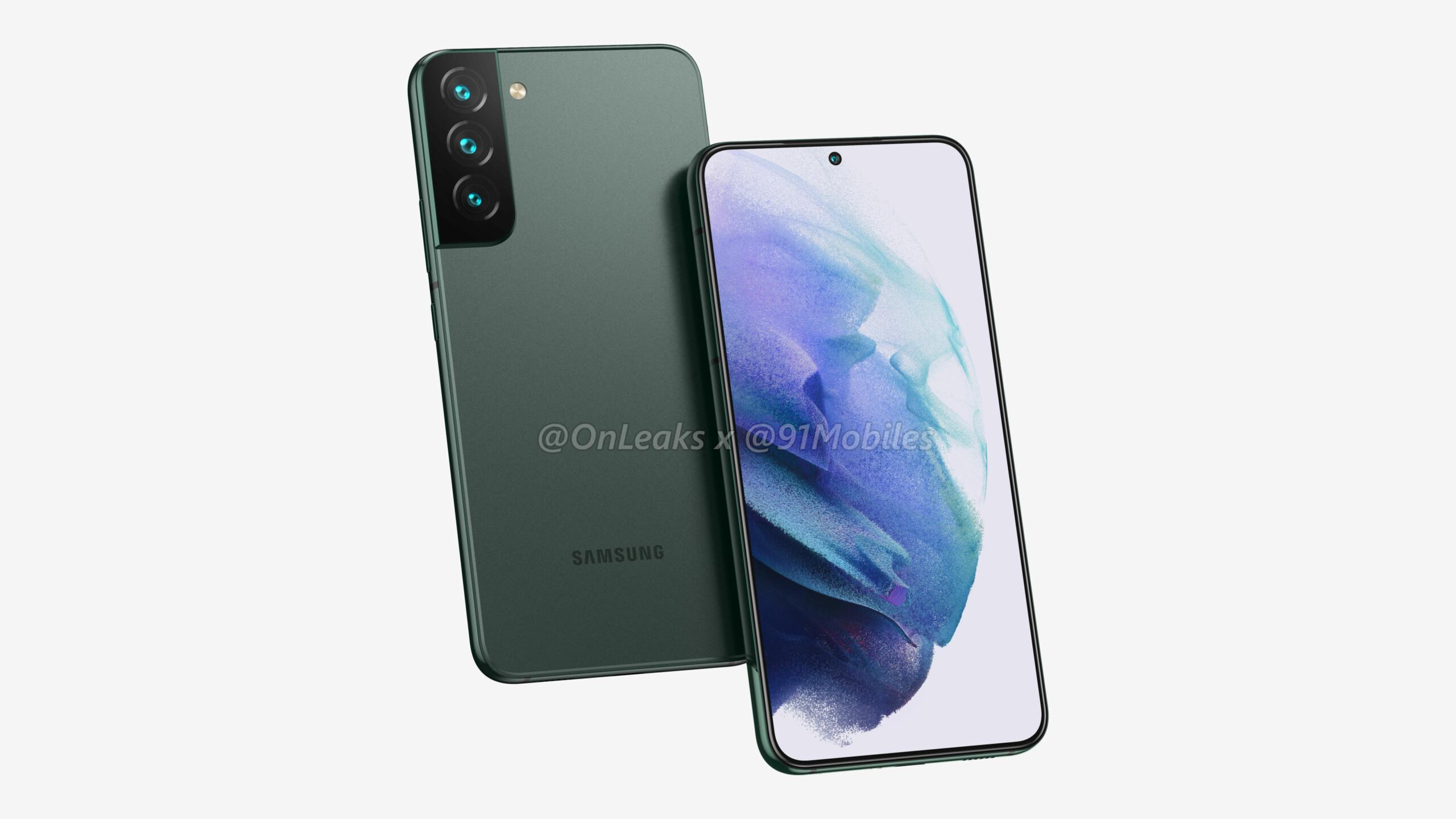 Samsung GalaxyS22+: OnLeaks nous le fait découvrir sous toutes ses coutures