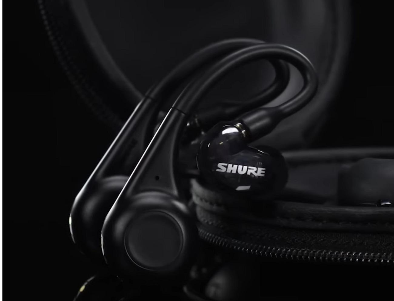Shure lance ses nouveaux écouteurs à la fois filaires et Bluetooth