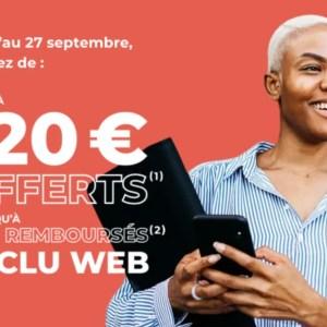 Société Générale : 120 € offerts + 80 € remboursés pour l'ouverture d'un compte Sobrio