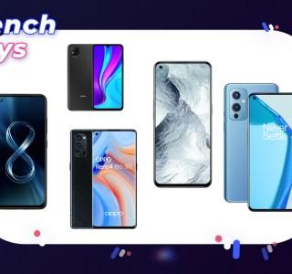 French Days : le TOP 5 des meilleurs smartphones en promotion ce dimanche